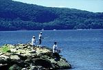 fishing on the Hudson River