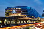 Hilton Frankfurt Airport at the iconic and futuristic THE SQUAIRE building