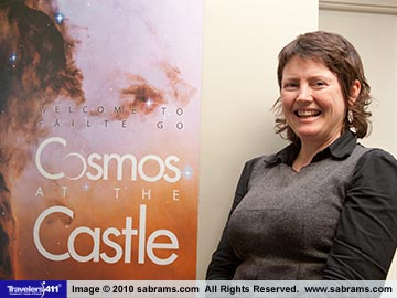 Blackrock Cosmos at the Castle. Claire McSweeney, Facilities Manager.