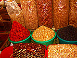 Silk Road Tours. Dry fruits.  Photo credit:  Dr. Richard Moss.