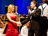 The Boston Pops at Tanglewood in Lenox, Massachusetts Featuring Jason Danieley and Kelli O\'Hara with Keith Lockhart Conducting.