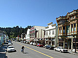 Downtown Ferndale, California, USA.
