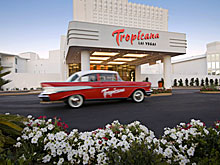 The New Tropican Las Vegas Hotel and Casino in Las Vegas, Nevada, USA.