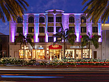Luxe Rodeo Drive Hotel in Beverly Hills, CA.