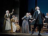 At Barrington Stage:  Cast of THE CRUCIBLE (Photo by Kevin Sprague, copyright 2010)