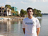 Patrick Olivieri, Manager of Kids Club at Club Med Sandpiper Bay  in Port St. Lucie, Florida.