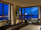 Grand Luxe Water View Guest Room at Hotel 1000 in Downtown Seattle