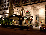 The Fairmont Hotel on Mason Street in San Francisco, California