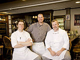 The three Dorset Inn Chefs.