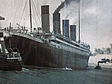 Photo of Titanic Leaving Belfast (in one piece)