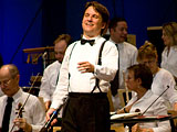 Boston Pops at Tanglewood in Lenox, Massachusetts. Keith Lockhart Conducting.