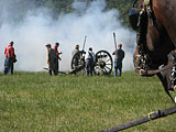 Battle of Gettysburg Reenactment. Photo by Paul Witt