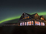 Northern Lights at Hotel Ranga, Hella, Iceland.