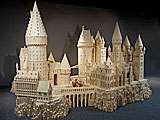 Hogwarts Castle Crafted out of Match Sticks on Display at Ripley\'s Believe It Or Not!