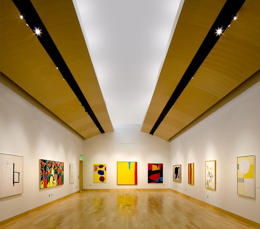 The Mandelman-Ribak Gallery at the Harwood Museum of Art in Taos, New Mexico.