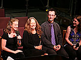 Pearl, the opera.  Talkback 2012 (after the performance, discussion with audience) Sara Jobin, Carol Gilligan, Jonathan Gilligan, Amy Scurria.