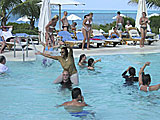 Club Med Swimming Pool Volleyball Fun!
