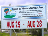 Crowne of Maine Balloon Fest