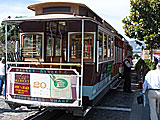 Trolly Car in San Francisco, California, USA
