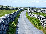 Inishere island one of the Aran islands in Ireland.
