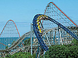 Cedar Point Amusement Park in Sandusky Ohio