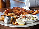 Fish and Chips at Nick\'s Restaurant in Pacifica, California