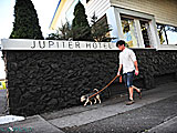 Pet friendly Jupiter Hotel, Portland, Oregon, USA.