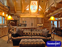 The Redwoods in Yosemite rental cabins.  132 Year-round fully equipped vacation homes rentals INSIDE Yosemite National Park near the Mariposa Grove of Giant Sequoias.