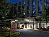 Chicago Marriott Naperville Main Entrance