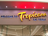 Tropicana Las Vegas, Nevada Hotel Entrance
