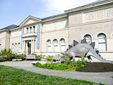 The Berkshire Museum in central downtown Pittsfield, Massachusetts, USA.