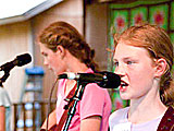 The Cockman Family girls continue the tradition of music in their family and at Fiddler's Grove.