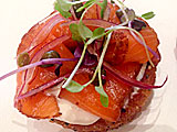 Bagels and Lox at the Myriad Restaurant Group in NYC