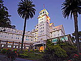 The Claremont Hotel Club and Spa at Twilight, located in Berkeley, CA.