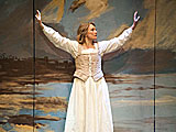 Shakespeare\'s Will, starring Kristin Wold.  Photo credit: Kevin Sprague