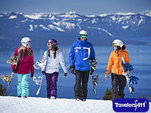 Heavenly Mountain Resort offers breathtaking views of Lake Tahoe.