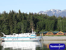 The 66-passenger Admiralty Dream, formerly the Spirit of Columbia, part of the Alaska Dream Cruises fleet.