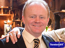 Martin McCrossan, President, CEO, Founder, Derry City Tours, Derry City, Northern Ireland, UK.  (Lived 1962 - 2015)