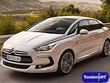 Europe By Car.   Citroen DS5 Sedan - Citroen\'s newest model. Great for 4 with luggage.