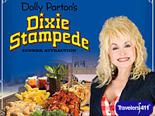 Dolly Parton's Dixie Stampede Dinner Attraction.