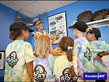 S.E.A. (Seaside Eco Adventure) Camp for children 7 to 17 at Marineland.