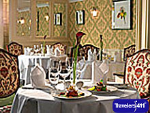 PJ\'s Restaurant at Fitzpatrick Castle Hotel.