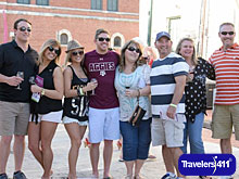 Granbury Wine Walk Fun.