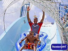 Schlitterbahn Waterpark Located Next Door To Moody Gardens Hotel, Spa And Convention Center