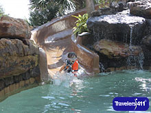 Pool Slide, The San Luis Resort, Photo Courtesy of Landry\'s, Inc.