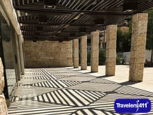 Inside the Jordan Museum are some amazing archeological wonders. The outside of the new museum near old town Amman is also striking.