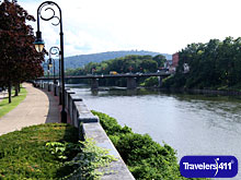 Downtown Binghamton Chenango River