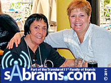 Keely Smith and Stephanie Abrams in Las Vegas.