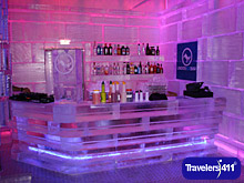 Lindos Ice Bar in Greece.