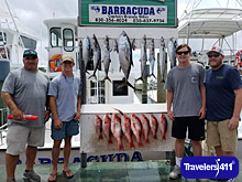 5th Day Charter Fishing, Destin, Florida, USA. Blackfin tuna, King Mackeral, Red snappers!!